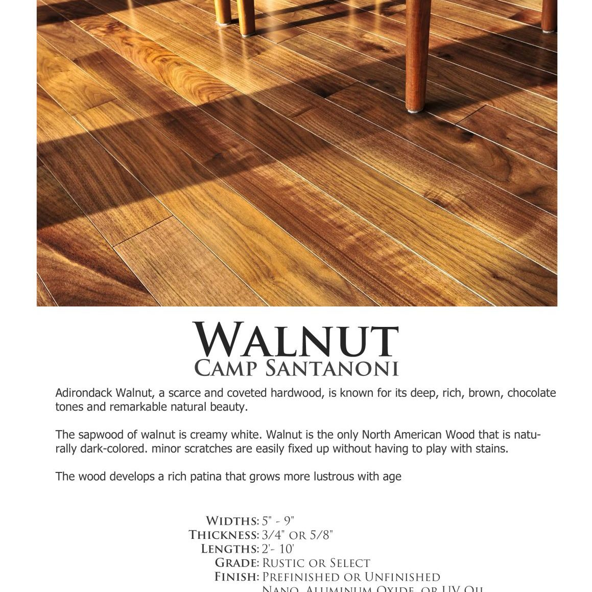 Santanoni-Walnut