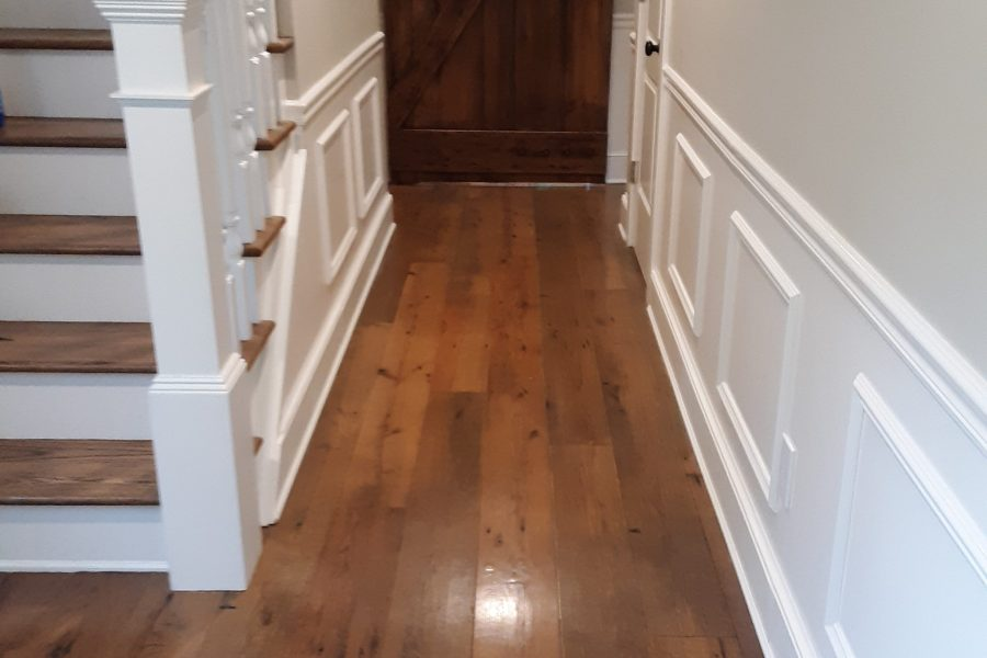 Reclaimed Oak/Site Finished