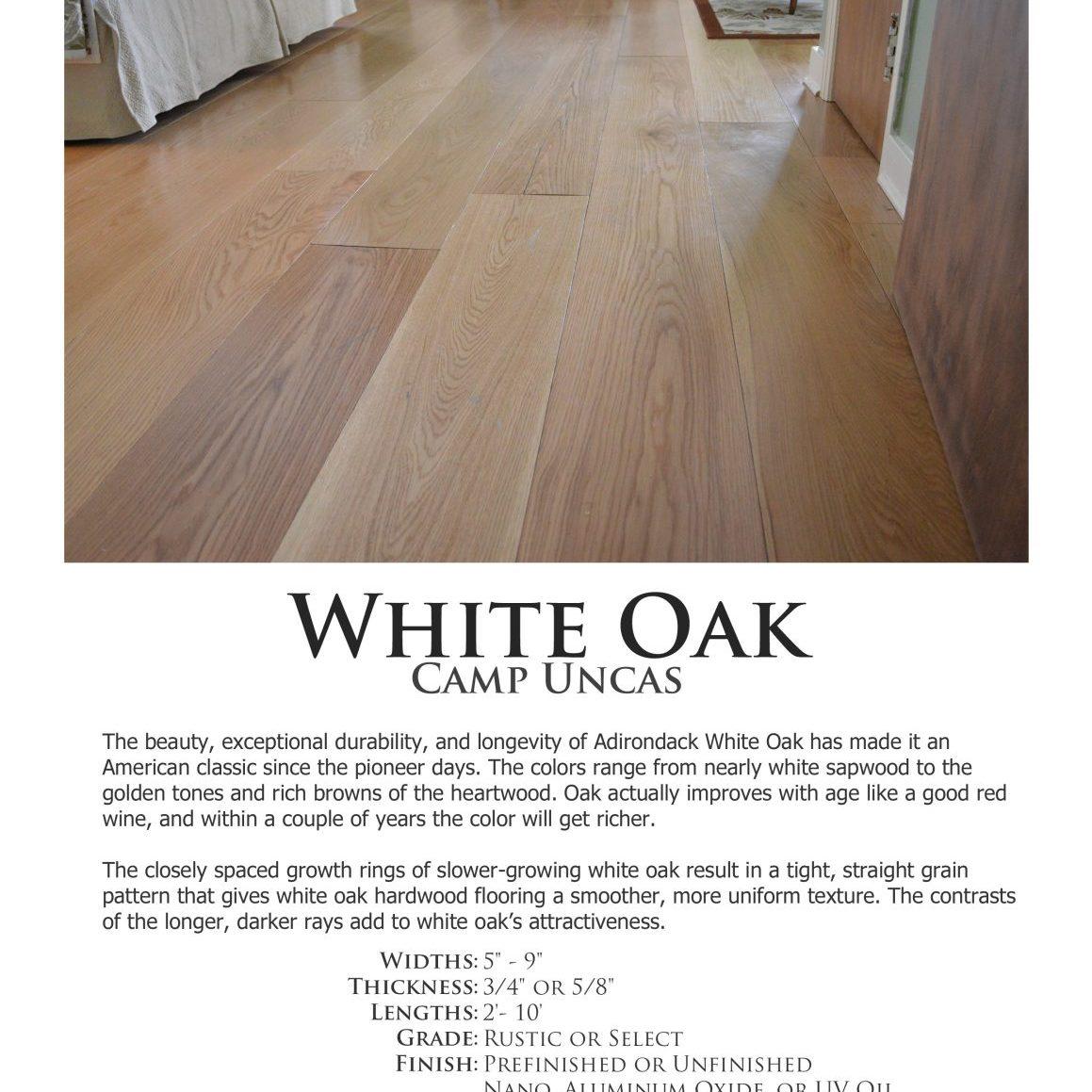 Uncas-White-Oak