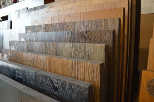 provenza wood flooring in display at Adirondack Wood Floor Co.