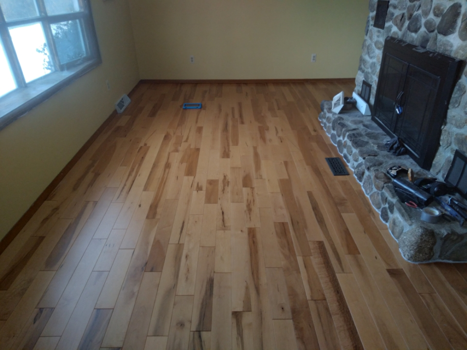 """Character Grade Maple with a """"Honey"""" Stain"""